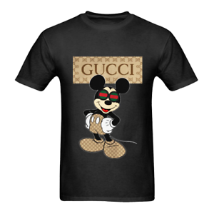d76681e65 Mickey Mouse Parody Styled T-Shirt White & Black Colour Top Tee ...