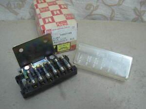 image is loading one-nos-oem-isuzu-fuse-box-assembly-6-