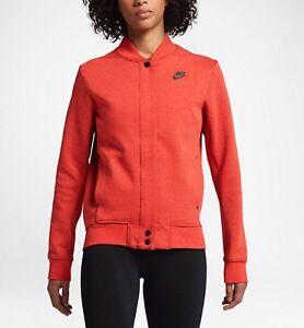 Détails sur Nike Tech fleece Women's Destroyer Veste