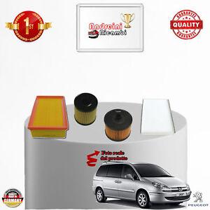 Filtro de aceite-Peugeot 807-2.0 100kw