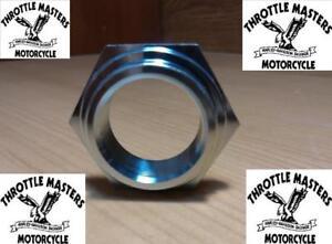 Zinc-Stem-Nut-for-Harley-Big-Twin-Springers-039-36-039-48