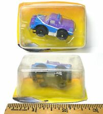 1994 Galoob Micro Machines 1/87th Slot Cars Very VERY Rare PURPLE PICKUP TRUCK !