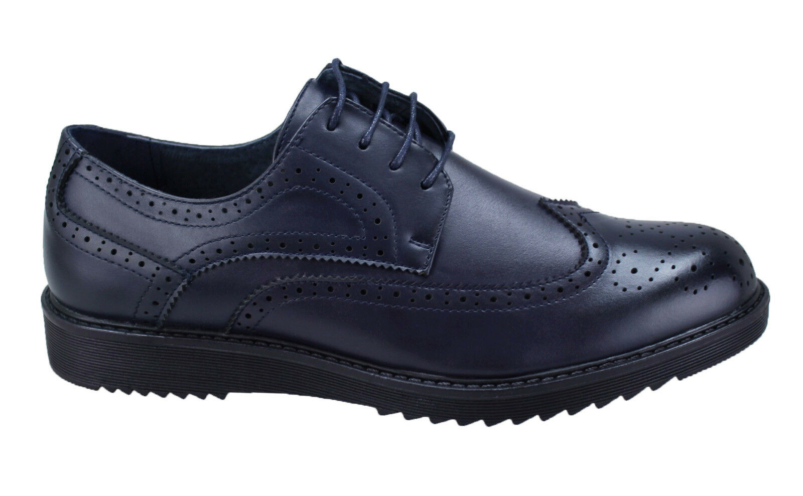 shoes oxford homme Diamant blue casual Élégant neuf parisiens man's