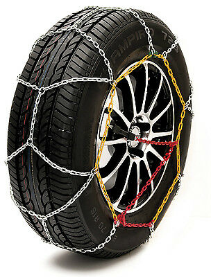 215//60 R17 MP Essentials Sumex Husky Winter Professional 16mm 4WD Snow Chains for 17 Car Wheel Tyres Pair