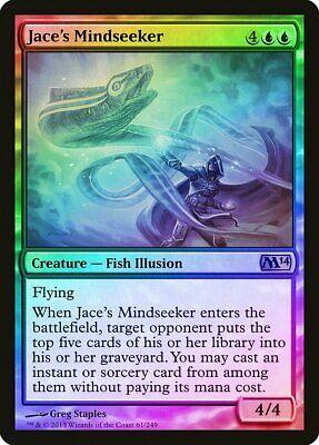 Jace/'s Mindseeker FOIL Magic 2014 M14 HEAVILY PLD Blue Rare MTG CARD ABUGames