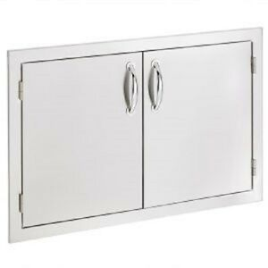 SUMMERSET DOUBLE DOOR 30 INCH STAINLESS STEEL #SSDD-33 FREE SHIPPING!