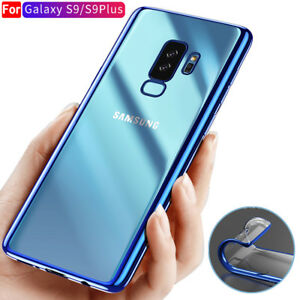 For-Samsung-Galaxy-A8-S9-Plus-Case-Slim-Glossy-Plating-Silicone-Shockproof-Cover