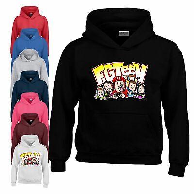 Fgteev The family Game Cartoon Kids Hoodies SweatShirt Tops Jumpers Hoody