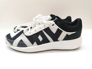 Details about Adidas CloudFoam Race AW5327 Men's Size 9 Running Shoes White Black