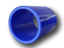 Straight Silicone Hose Choice of Diameter and Black Red or Blue. HUGE SELECTION
