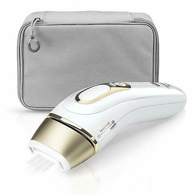Braun Silk Expert Pro 5 PL5014 IPL Permanent Visible Hair Removal, White/Gold