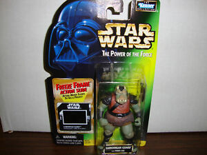 STAR WARS THE POWER OF THE FORCE GAMMOREAN GUARD 1997