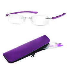 Eschenbach +3.50 Diopter Ready Reading Glasses  Purple Frame Small