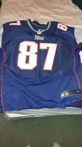 c43176ca74d Image is loading Rob-Gronkowski-New-England-Patriots-Navy-Authentic-Nike-