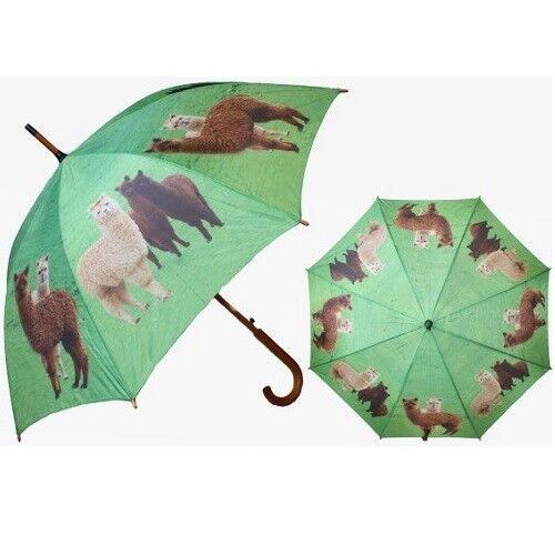 Cornelissen 1040017 Regenschirm mit Alpakas