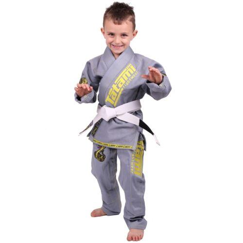 Tatami Fightwear Meerkatsu Kids Animal BJJ Gi Gray