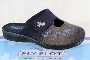 Fly Flot Damen  Hausschuh blau