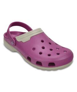 Wild Orchid & Stucco Duet Clog Crocs Unisex Shoes Mens US 9 Women's US 11