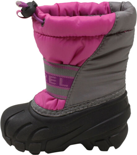 Sorel Little Girls Cub Boots Very Berry//Razzle 5 New