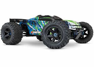 Traxxas-E-REVO-2-0-Monster-Truck-w-Green-Body-TRA86086-4-GRN