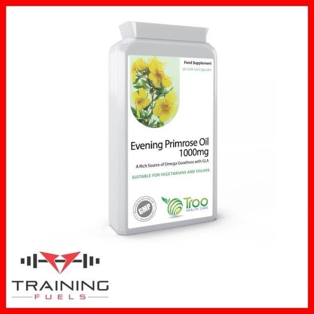 Evening Primrose Oil 1000mg 90 Caps Supports Hormone Balance Skin Troo Health