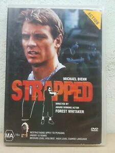 Strapped-DVD-2002-Michael-Biehn-Directed-by-Forest-Whitaker-Region-4