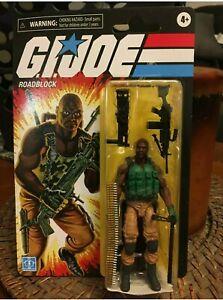 GI Joe Retro Collection Roadblock Walmart Exclusive MOC