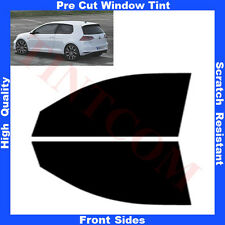 Pre Cut Window Tint VW Golf VII 3 Doors Hatchback 2013-... Front Sides Any Shade