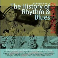 History Of Rhythm & Blues CD NEW SEALED Robert Johnson/Jimmie Rodgers+