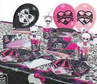 Monster High Party Geburtstag Kindergeburtstag Motto Deko Set Geburtstagsset