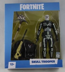 Fortnite Epic Games Skull Trooper 7 Inch Action Figure By
