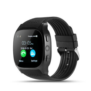 Android-Bluetooth-Smart-Watch-Unlocked-Cell-Phone-Camera-For-Android-Black