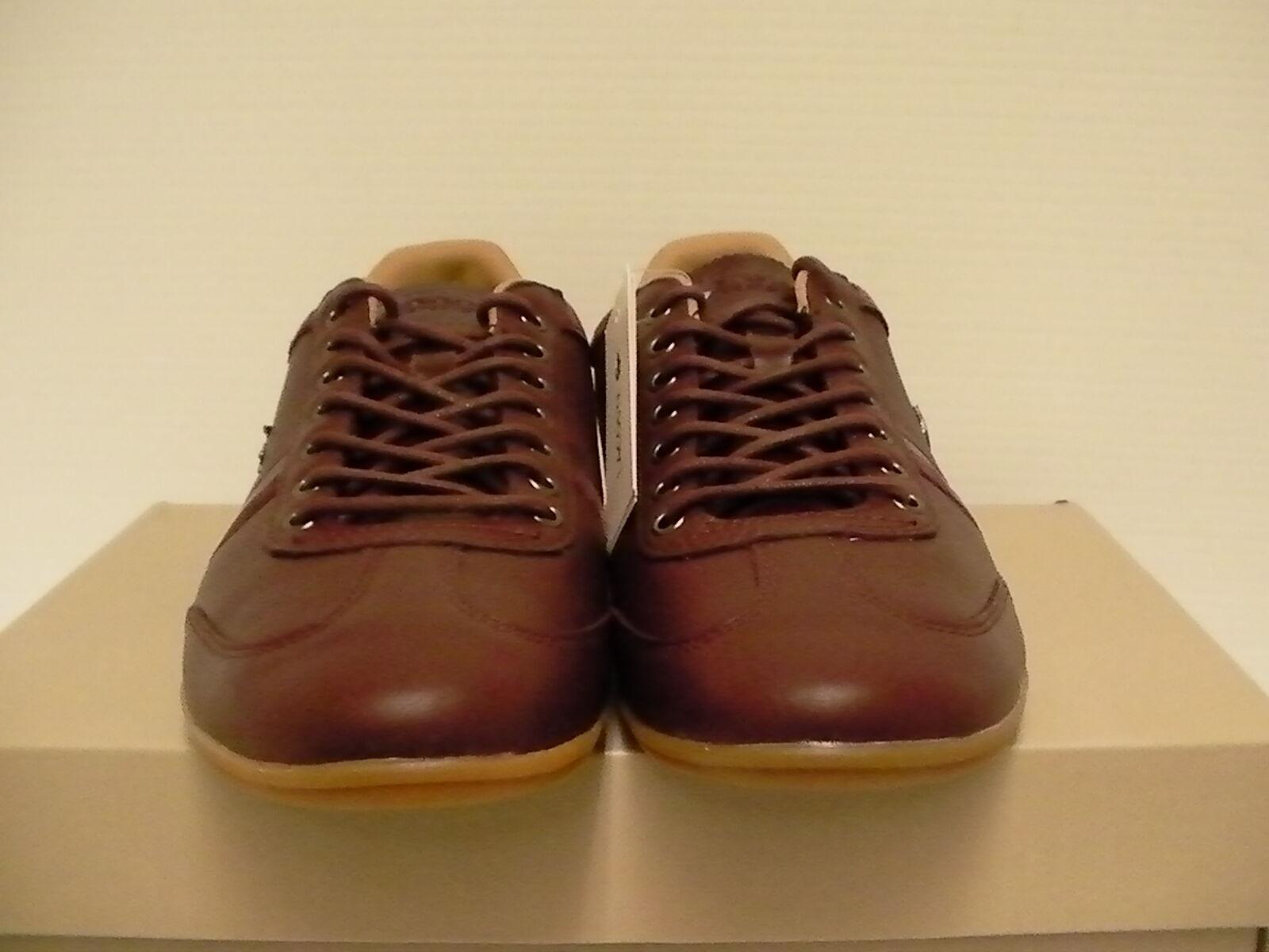 lacoste souliers misano taille 36 spm brun foncé taille misano 8 hommes a168c4
