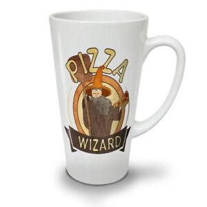 Pizza Food Wizard NEW White Tea Coffee Latte Mug 12 17 oz   Wellcoda