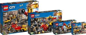 LEGO ® City minière mine complet Set 60188 60186 60185 60184 Power continus n2/18 							 							</span>