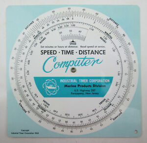 vintage-1963-Speed-Time-Distance-Computer-Slide-Wheel-Chart-Marine-Products-6-034
