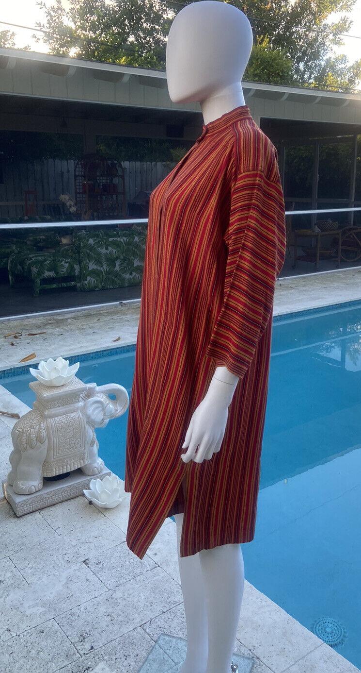 Vintage Yves Saint Laurent Kaftan 1970's M - image 4
