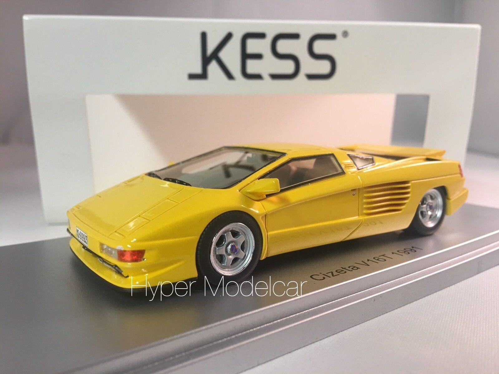 Kess modell 1   43 cizeta v16t 6,4 16cil 64v 1991 gelbe kunst.ke43048002