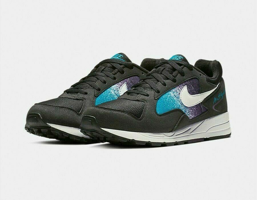 New Nike Air Skylon II Black White Purple Casual shoes AO1551-001 Size 9.5 NEW