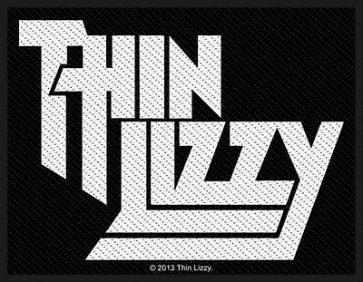 Thin Lizzy  Aufnäher - Logo (SP2695)Thin Lizzy Patch - Gewebt & Lizenziert !!!