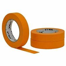 3 Pk 1 Inch X 60yd Stikk Orange Painters Tape 14 Day Easy Removal Trim Edge Fin