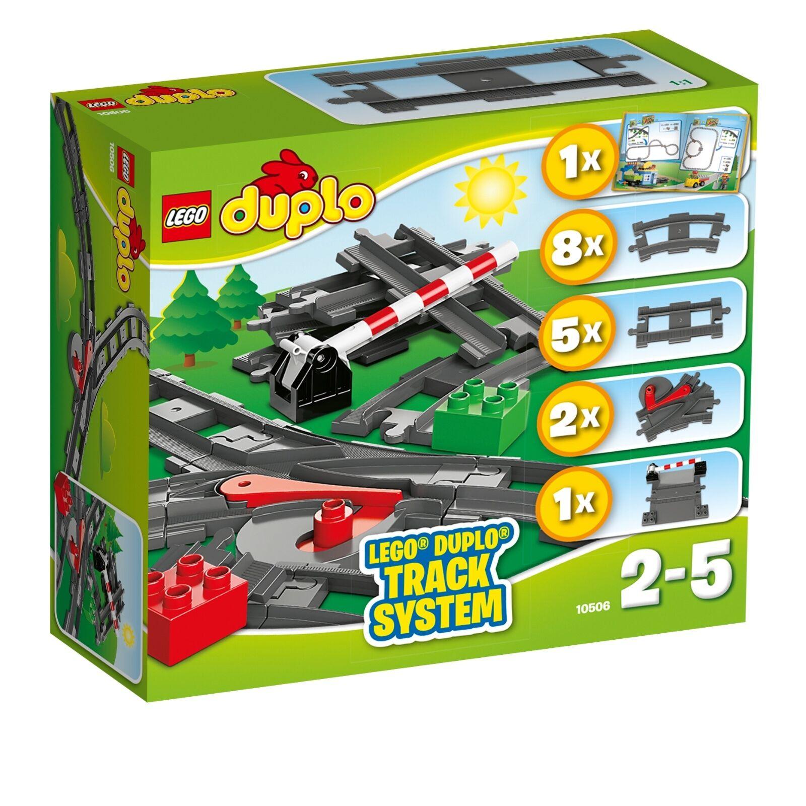 LEGO® DUPLO® 10506 Eisenbahn Zubehör Set NEU OVP Train Accessory Set NEW 10507