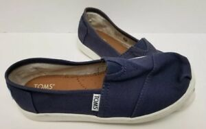 eceb414eb5f Image is loading Toms-Kids-Canvas-Classic-2-0-Slip-On-