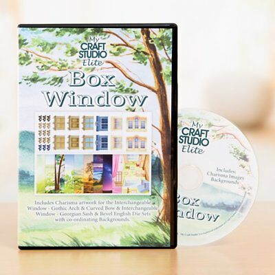 My Craft Studio Elite BOX WINDOW CD-ROM By Tattered Lace Digital Artwork