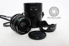 Sigma Japan Mini Wide Angle Macro lens for M42 fit with extras