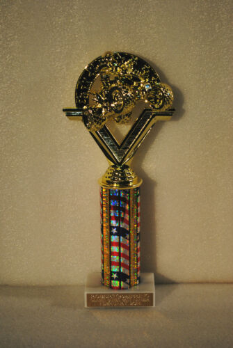 """Shipping Included 9/"""" to 10/"""" ATV Quad 4wheeler Trophy Award Free engraving"""