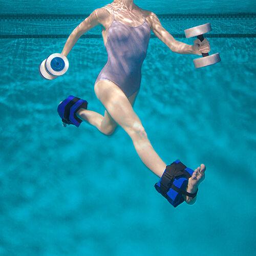 CLASSIC HYDRO-FIT CUFF EASY CLOSE Buoyant Buckle Water Aerobic Belt Weight Swim