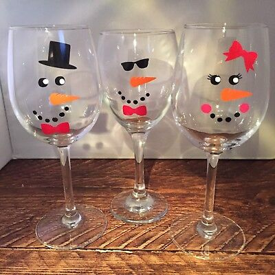 Reindeer Faces for baubles wine glasses glass mug vinyl sticker decal 5,10 or 20