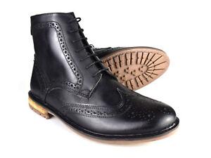 Silver Street Gerrard Black Leather