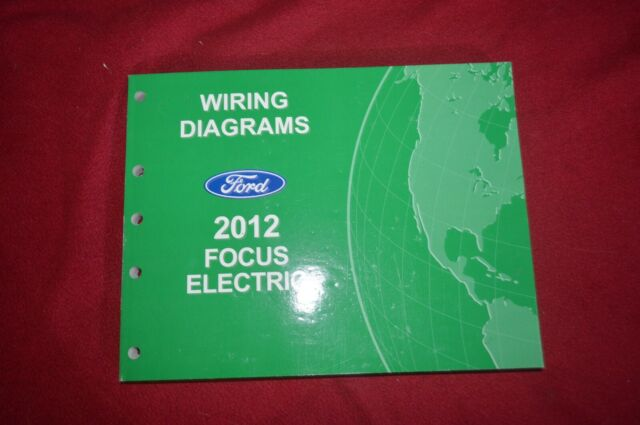 2012 Ford Focus Electric Wiring Diagram Manual Fcca